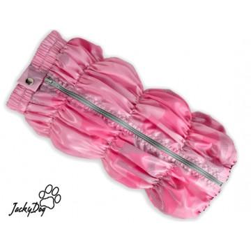 Жилет на гладком подкладе , розовый