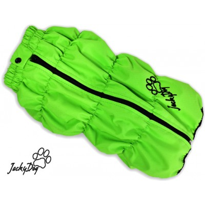 Жилет мембранный на флисе, на мопса, бульдога ,, зеленый ,,