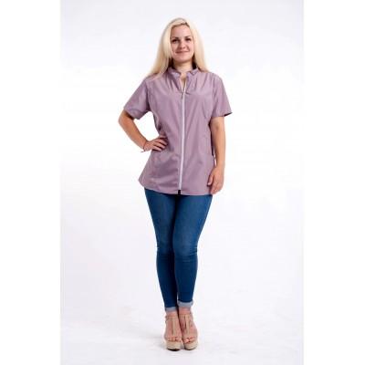 Блуза для грумеров водоотталкивающая ,,пудровый,,